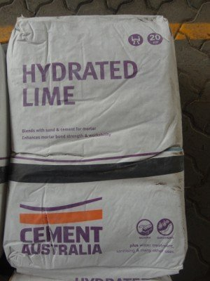hydrated lime cement mix