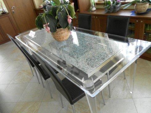 tavoli per la casa, tavole in vetro