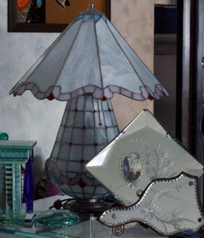 vetrate da arredamento, cristalli