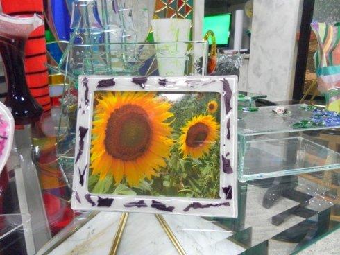 cornici in vetro, vetreria