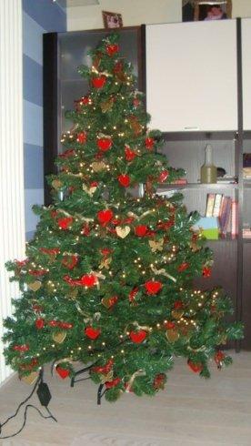 addobbi natalizzi in cristallo, addobbi natalizzi in vetro colorato