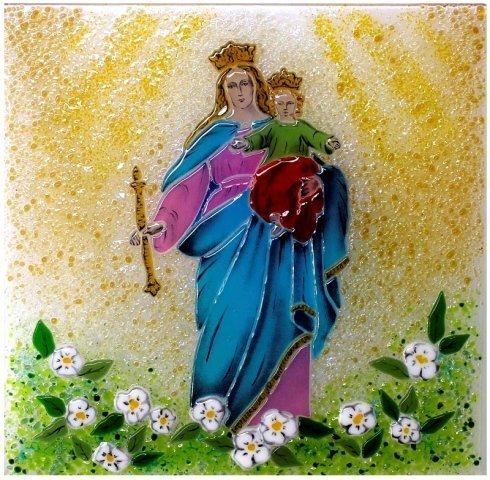 vetri decorativi ecclesiastici, rappresentazioni su vetro