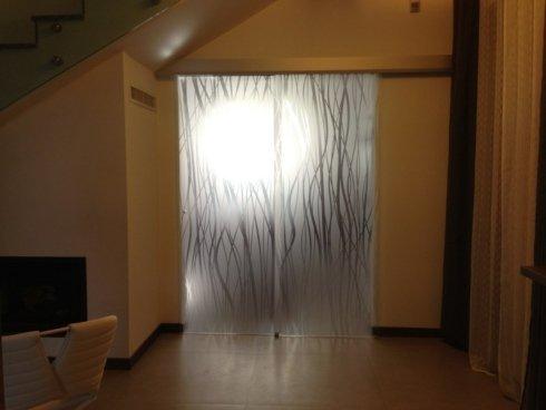 porta decorata, decorazione porte interni