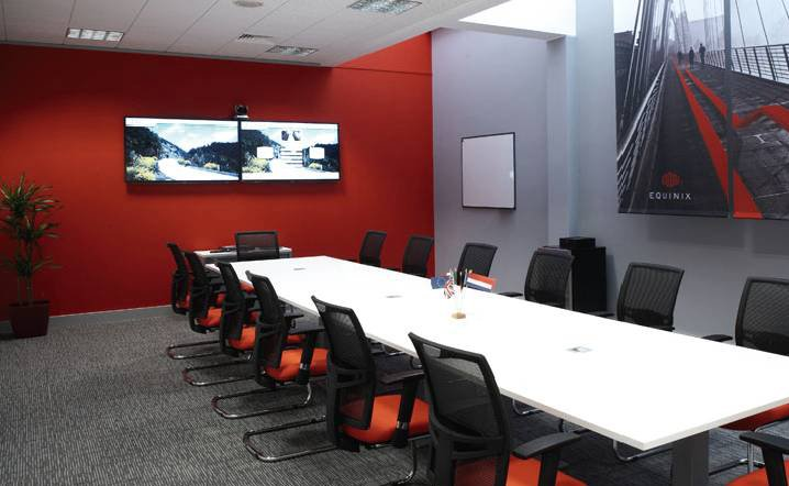 renovated meeting room