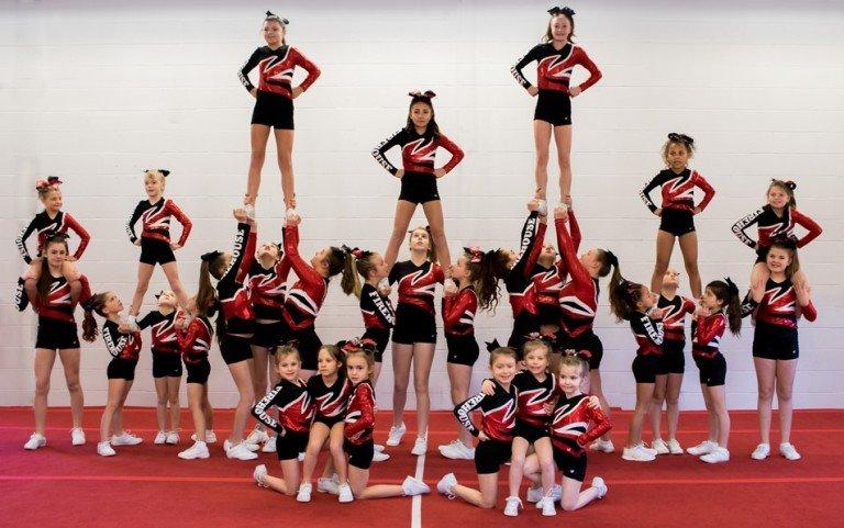 Cheerleading Class Brunswick, ME