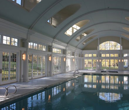 A royal swimming pool