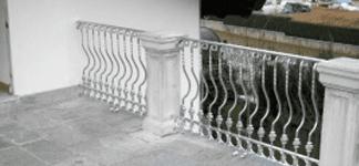 Balconate in ferro battuto