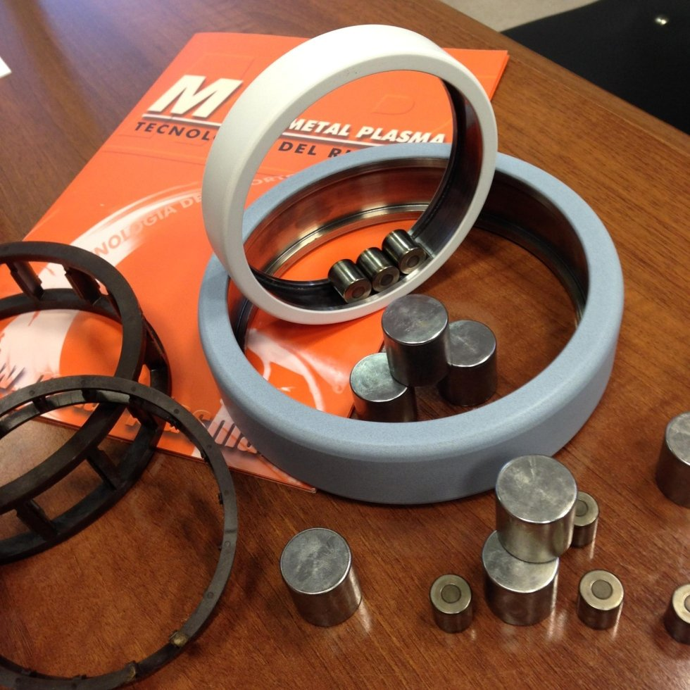 electric insulation of bearings