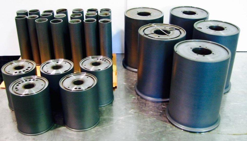 Godet textile rollers