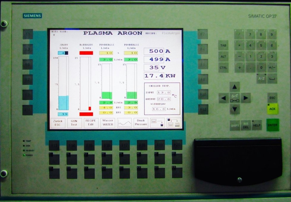 APS systems control panel