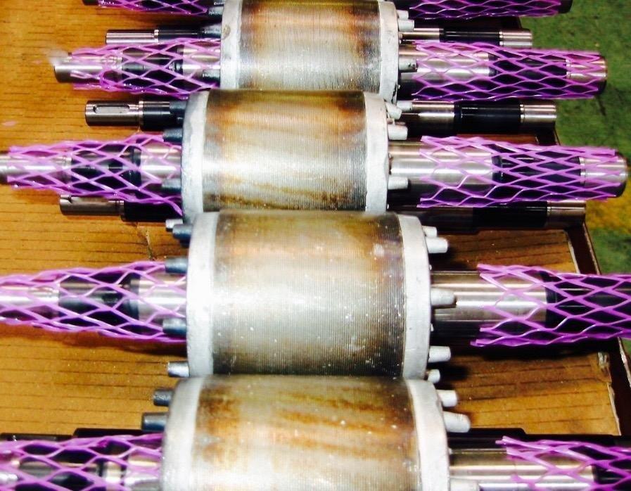 Isolated rotors