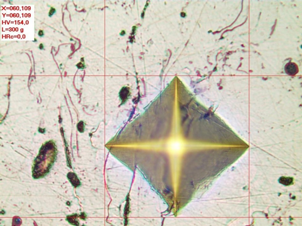 analisi microdurezza