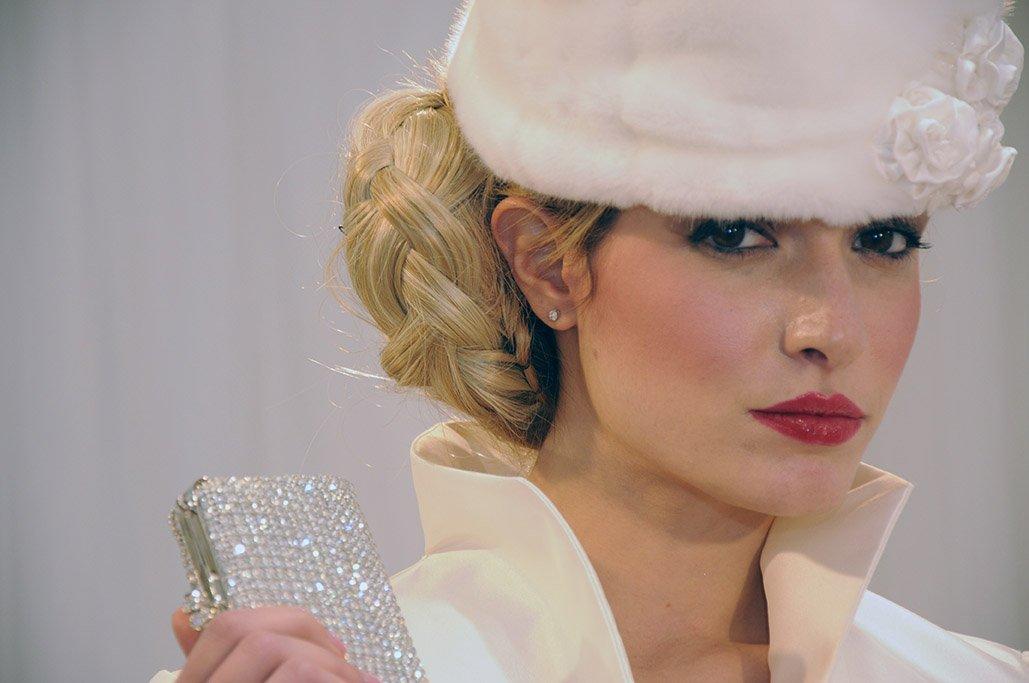 dettaglio cappellino sposa