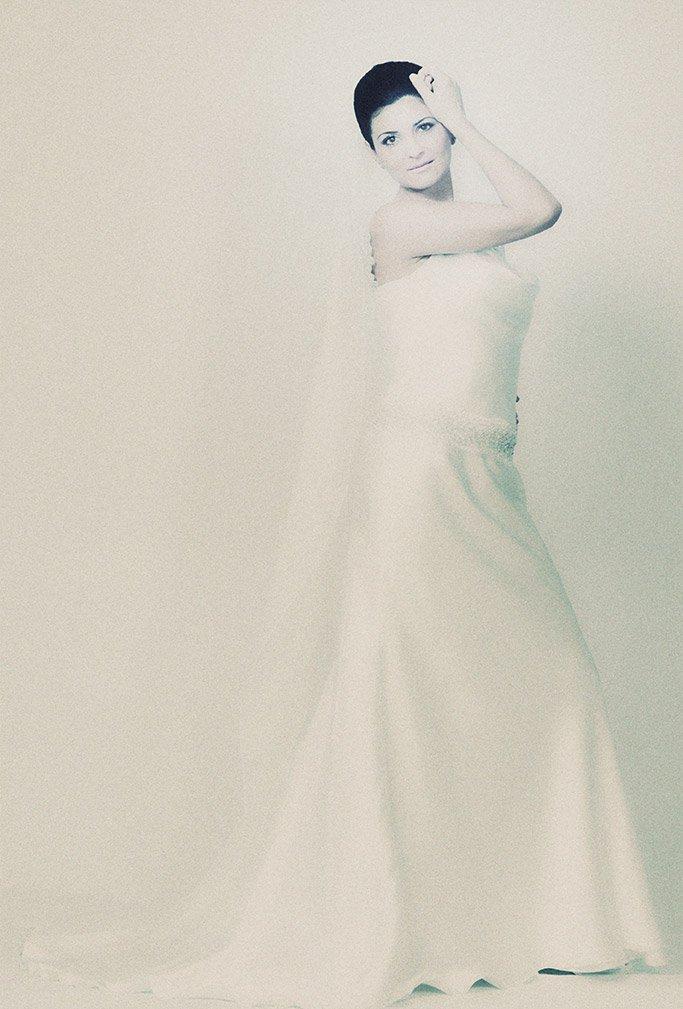 foto sposa in bianco e nero
