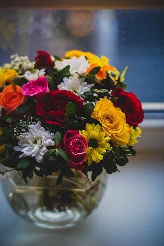 staten island obituary flower arrangement