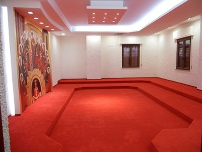 Moquette rossa sala