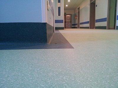 Posa pavimenti per ospedali
