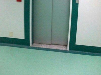 Pavimenti corridoi ospedali