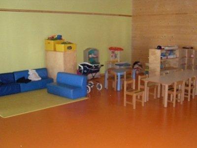 Pavimenti spazi bambini