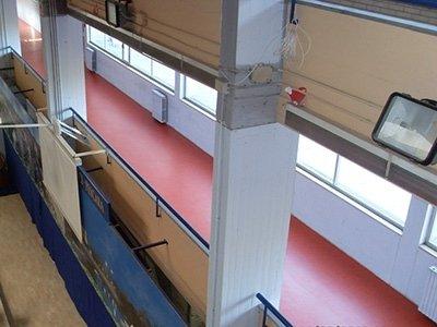 Pavimenti corridoio scuola