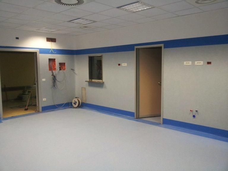 Rivestimenti completi per ambienti clinici