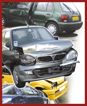 Car Scrap Yard - Dundee - Baldovie Autobreakers - Damaged cars