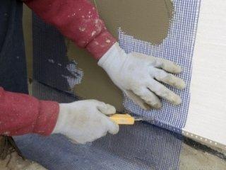 applicazione carta da parati, stucco ad effetto antico, decorazione facciate