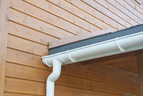 One of the quality gutters installed by our experts in Moscow Mills, MO