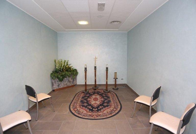 La sala azzurra