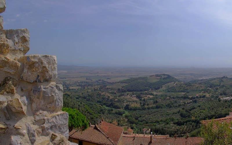 Campiglia Marittima Panorama