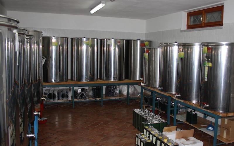 produzione olio toscana