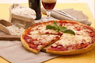 pizza con farina di Kamut