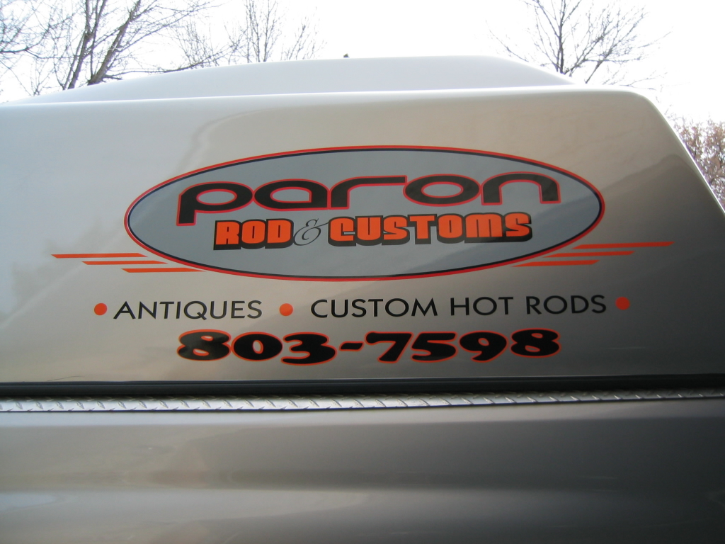 custom truck decals
