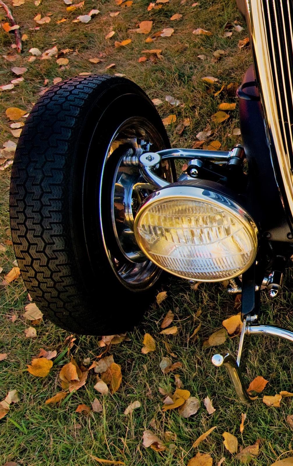 old car truck headlight