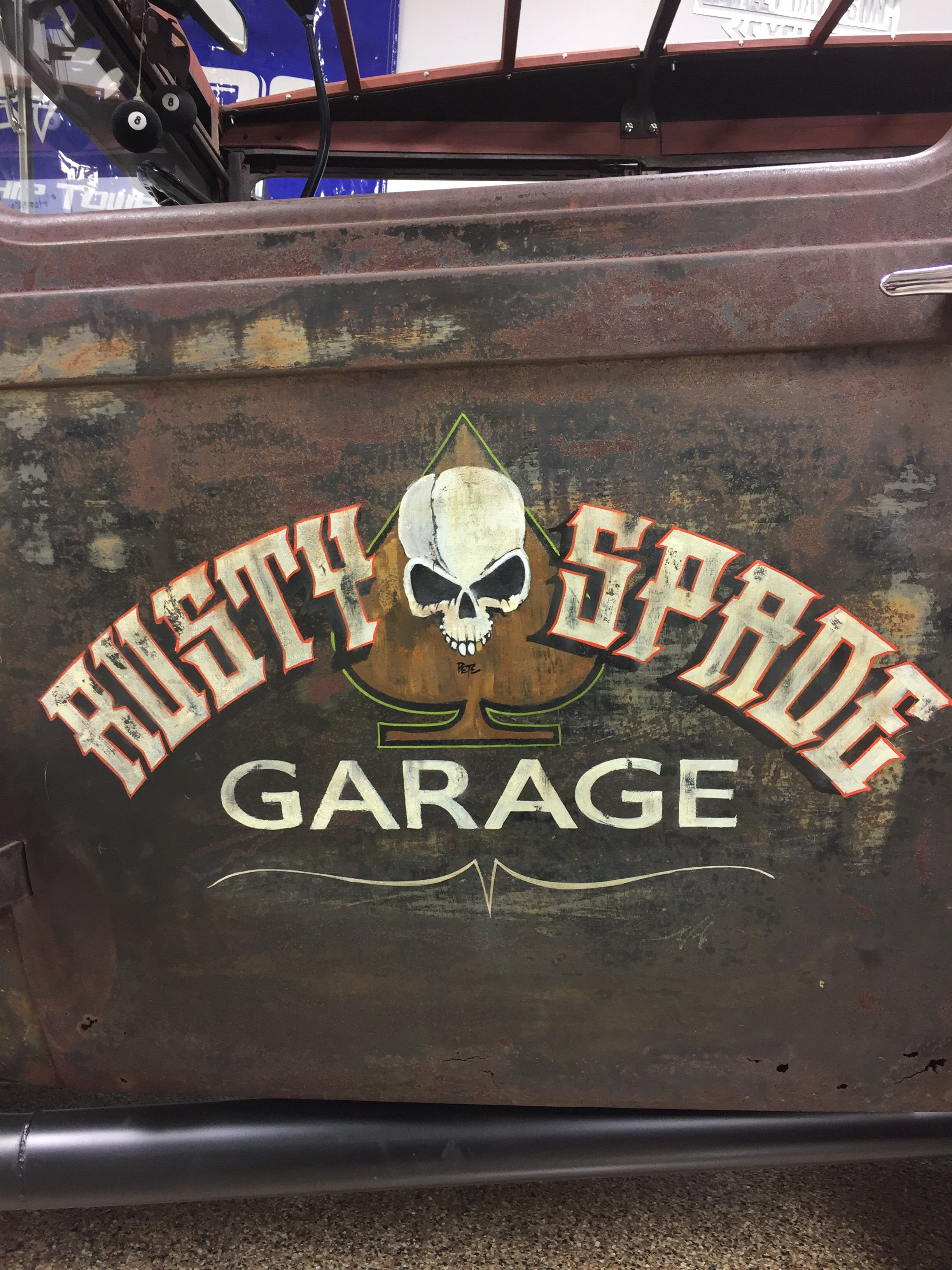 Ratrod door art