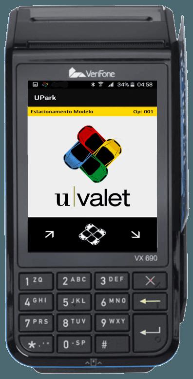 UValet - Solução POS com impressora e comunicação integrados.