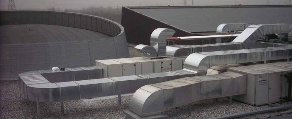 installazione di filtri per depurazione aria