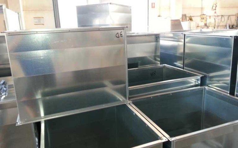 scatole alluminio
