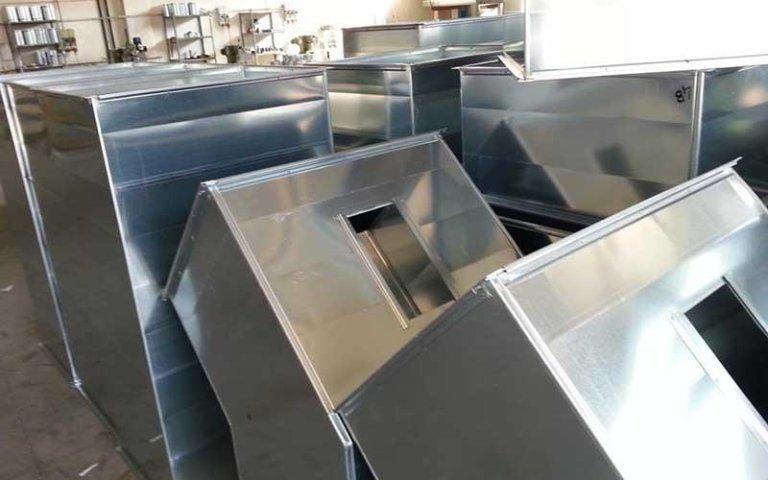 cassoni alluminio