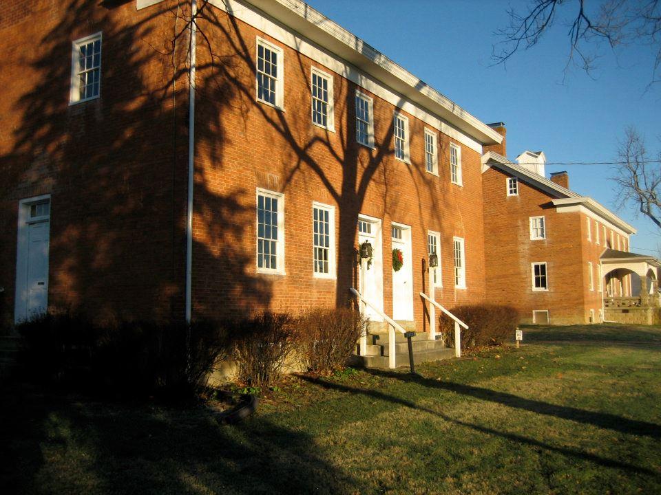 shaker settlement buildings ohio