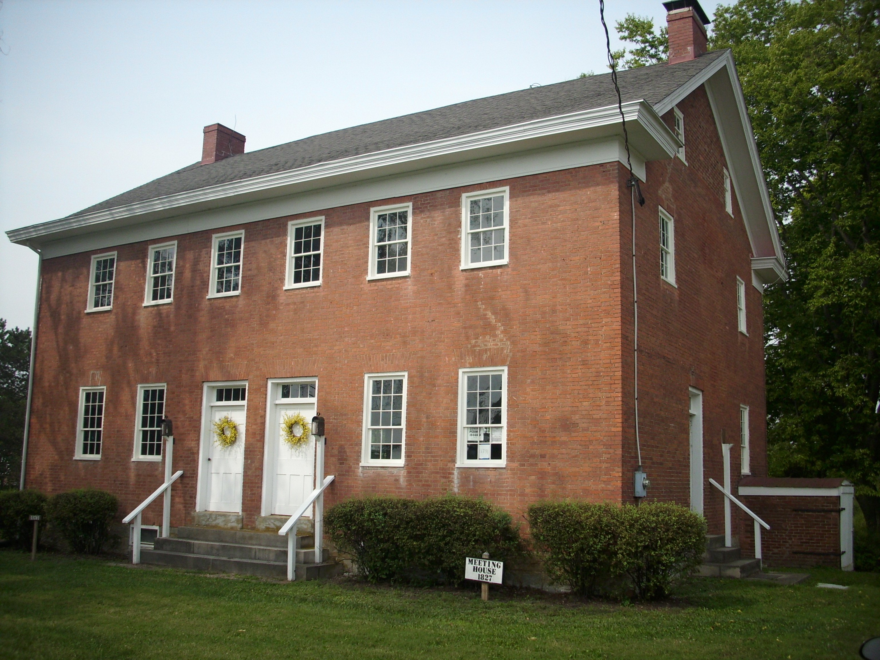 shaker meeting house