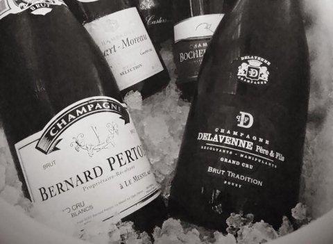 bottiglie di champagne