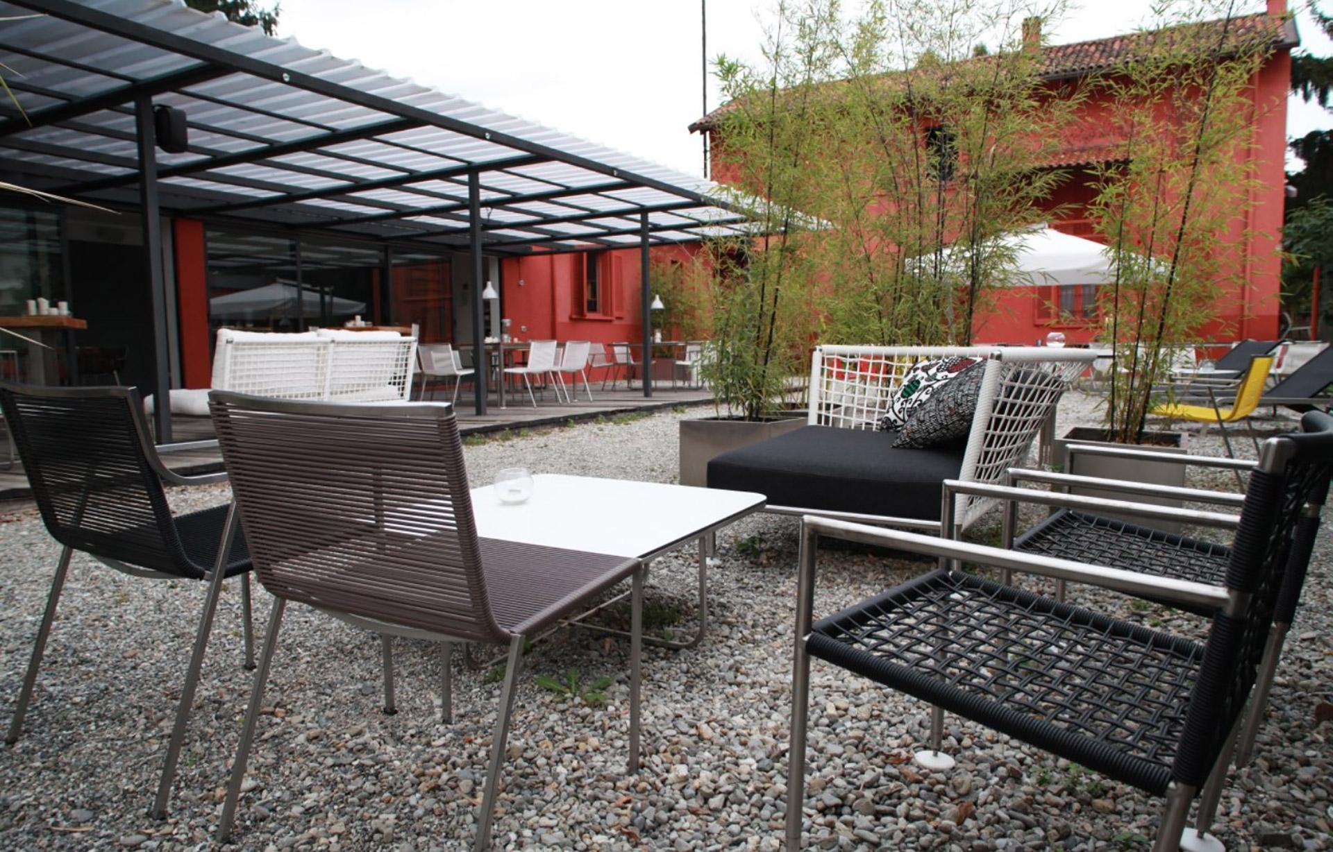 tettoia ristorante