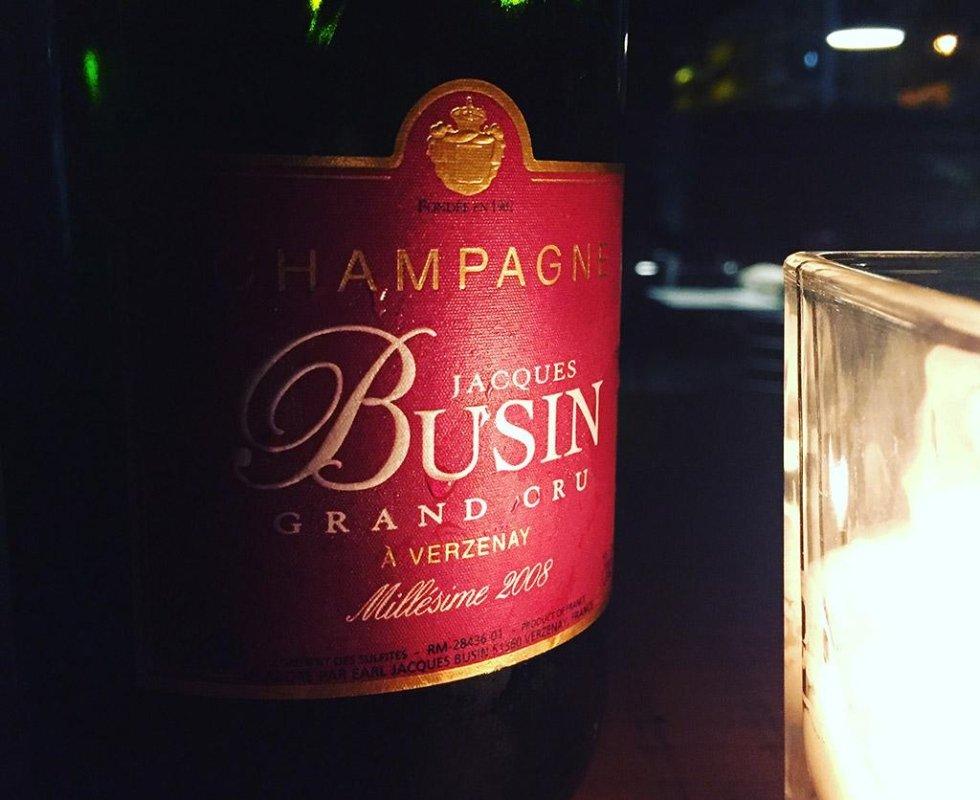 champagne grand cru busin