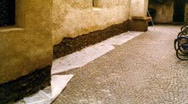 taglio del cemento armato, perforazione del cemento armato, infiltrazioni
