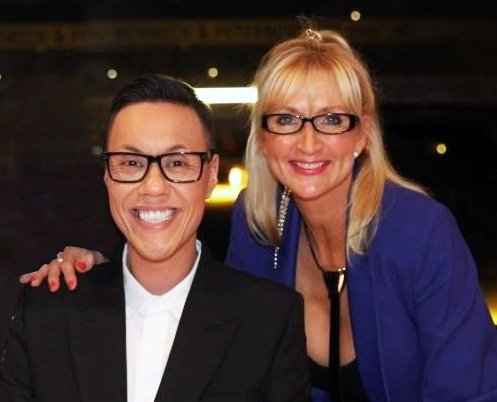 Gok and Chrissi