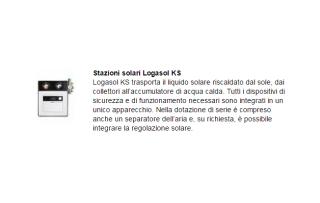 Stazioni solari Logasol KS