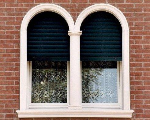 due finestre ad arco