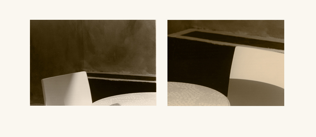 Diptych with table and chairs 2
