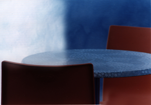 Composition with table and chairs 3